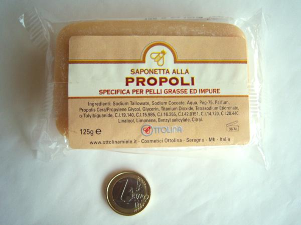 画像4: イタリアのハニーソープ  プロポリス入り石鹸 【カラー・イエロー】