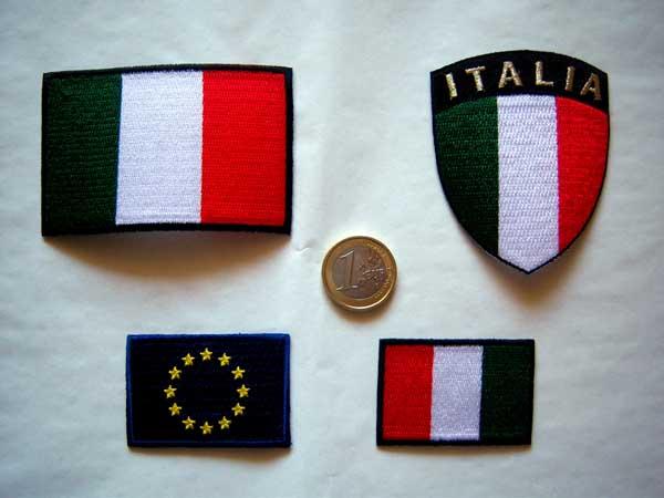 画像3: 欧州旗の刺繍ワッペン イタリア国旗のワッペンと合わせて使えば◎ 【カラー・ブルー】【カラー・イエロー】