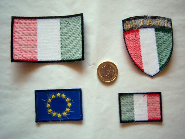 画像4: 欧州旗の刺繍ワッペン イタリア国旗のワッペンと合わせて使えば◎ 【カラー・ブルー】【カラー・イエロー】