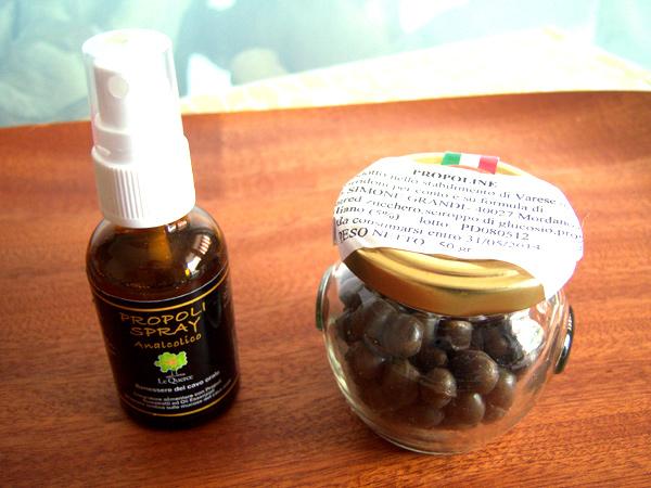 画像5: イタリアのプロポリス ノンアルコール  スプレータイプ 蜂蜜 【カラー・ブラウン】