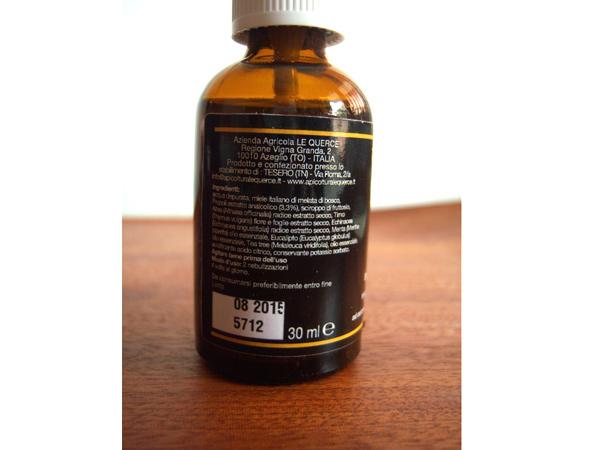 画像3: イタリアのプロポリス ノンアルコール  スプレータイプ 蜂蜜 【カラー・ブラウン】