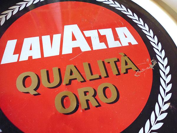 画像4: 【一点限り】イタリア LAVAZZA ラヴァッツァ アンティークトレー 【カラー・ブラック】【カラー・レッド】