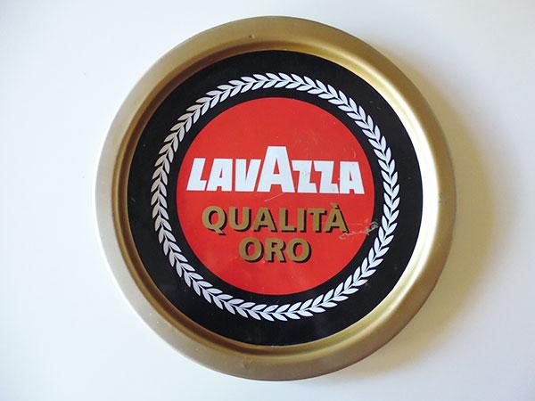 【一点限り】イタリア LAVAZZA ラヴァッツァ アンティークトレー