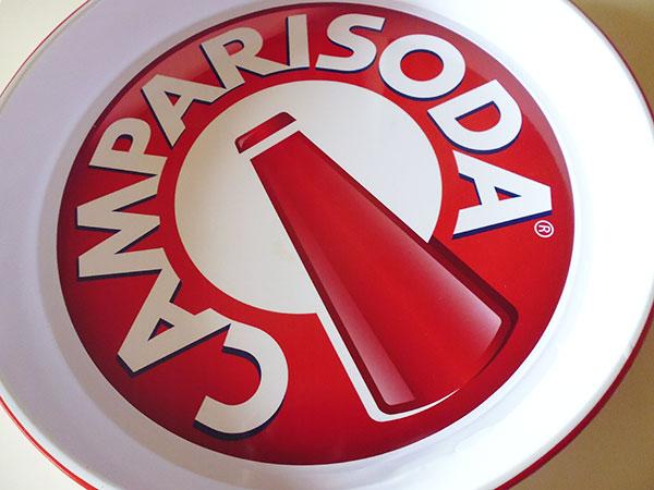 画像5: 【一点限り】イタリア CAMPARI SODA カンパリソーダ アンティークトレー 【カラー・ホワイト】【カラー・レッド】