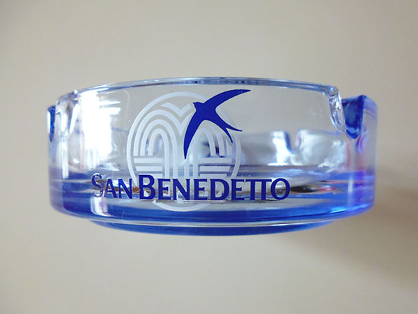 画像1: 【一点限り】イタリア San Benedetto サン ベネデット アンティークアッシュトレー 灰皿【カラー・ホワイト】【カラー・レッド】