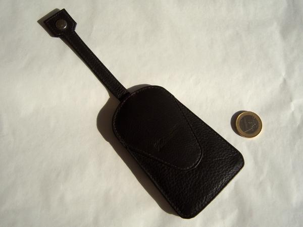 画像4: シックな小物 革のキーカバー付きキーホルダー 【カラー・ブラウン】