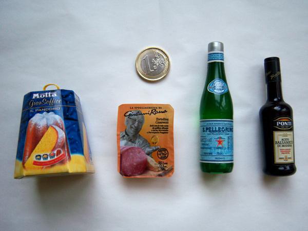 画像4: イタリアの食べ物がモチーフの可愛いマグネット ポンティのモデナ・バルサミコ酢 Ponti Aceto balsamico di Modena 【カラー・ブラック】