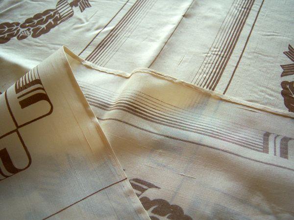画像4: 1点もの☆イタリア製シルク大判スカーフ・ショール 【カラー・イエロー】【カラー・ブラウン】【カラー・ホワイト】