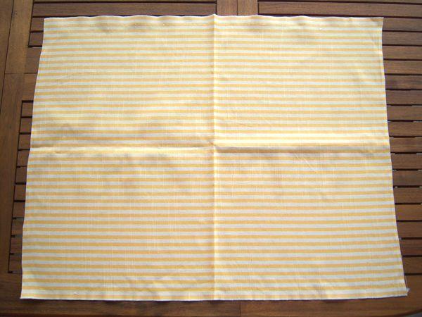画像5: 1点もの☆イタリア製コットン生地 ストライプ柄 【カラー・ホワイト】【カラー・イエロー】