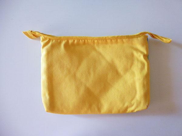 画像3: 刺繍いっぱいの可愛いマチ・内ポケット付きポーチ 【カラー・マルチ】